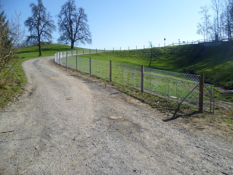 Diagonalgeflecht Maschendrahtzaun